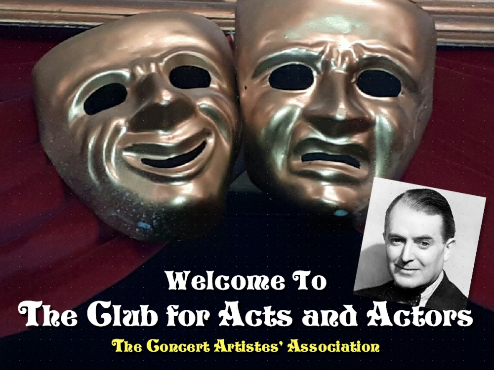 Welcome to The Club for Acts and Actors