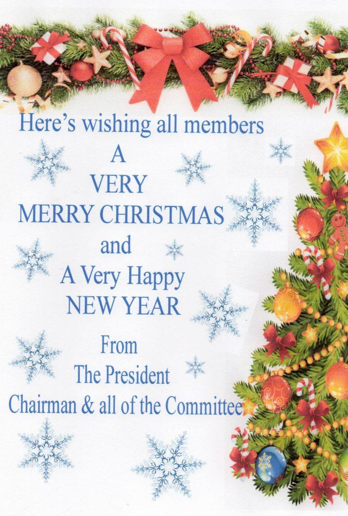 CAA Christmas Greetings