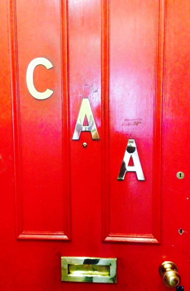 The CAA Entrance Doorway