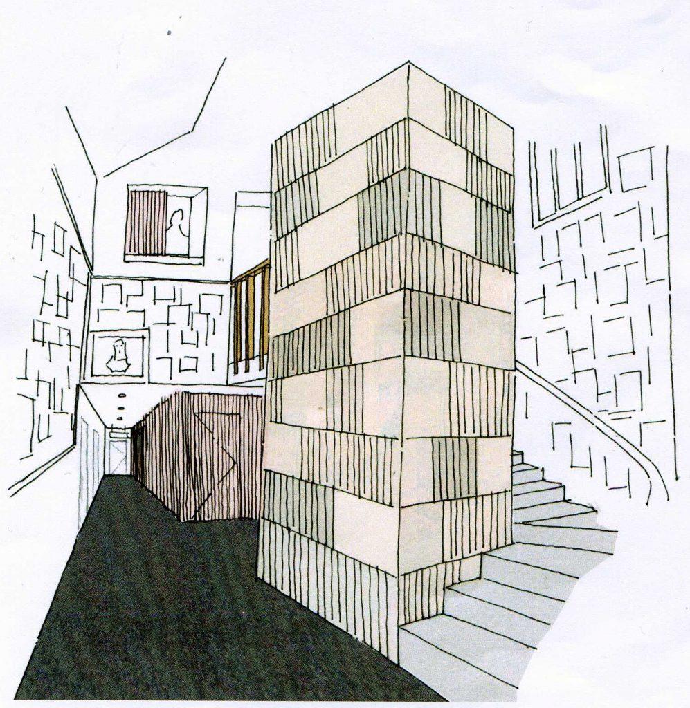 proposed new entrance design