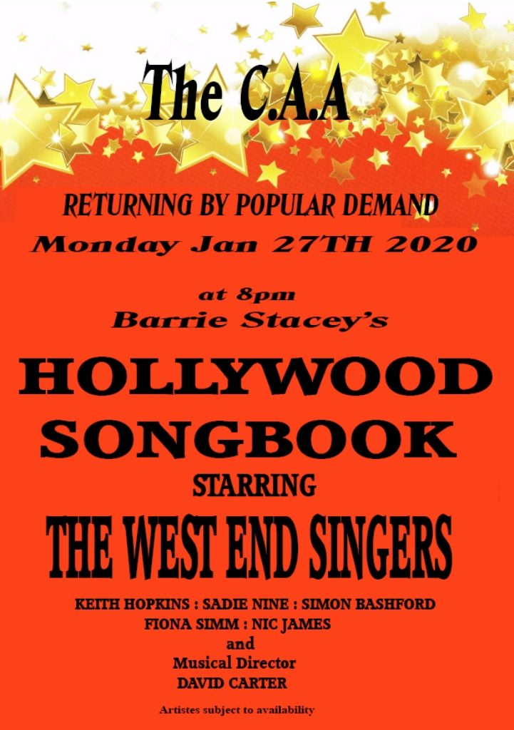 Hollywood Songbook Poster