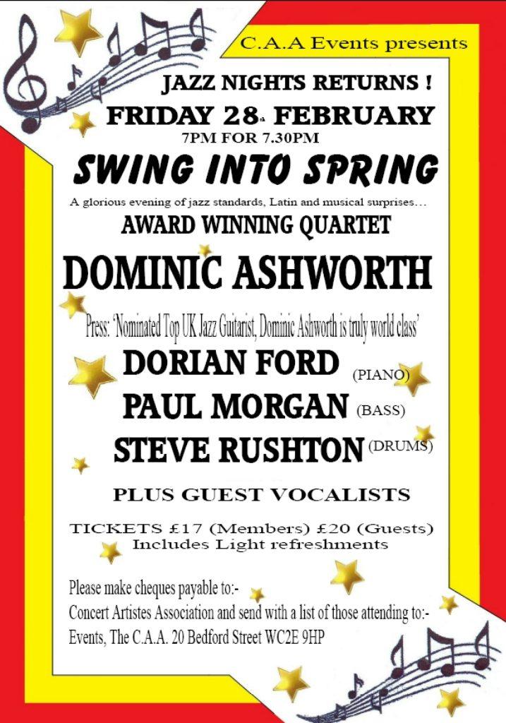 February 2020 Jazz Night