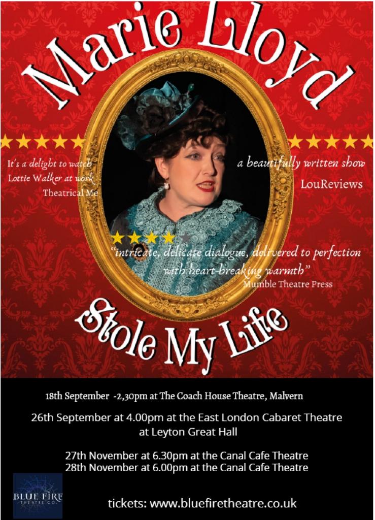 Marie Lloyd Stole My Life Flyer
